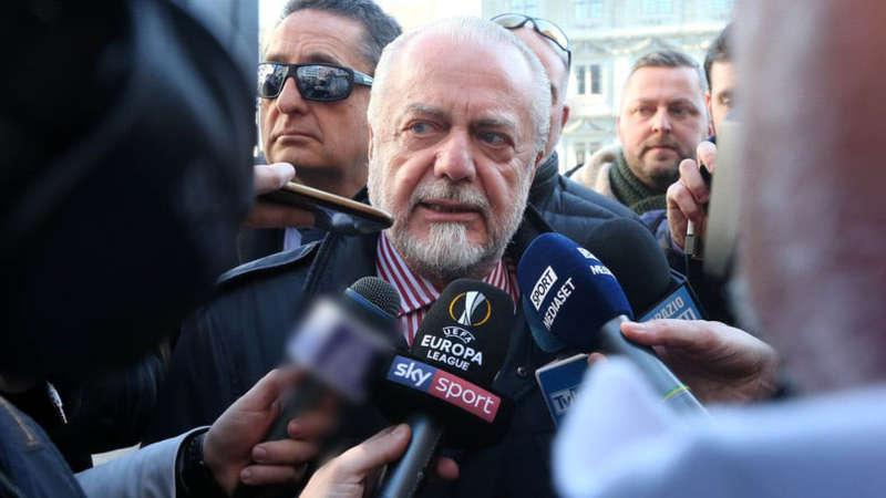 """De Laurentiis: """"De Rossi al Napoli, lo prenderei. Icardi? ho Milik"""""""