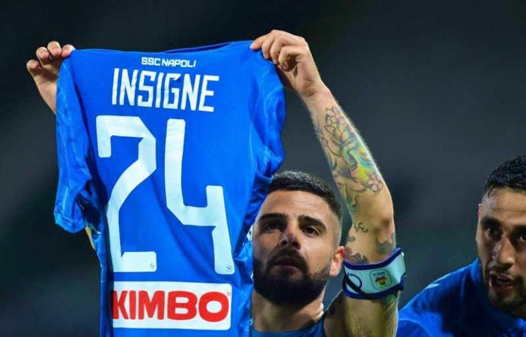 """Insigne batte il Cagliari: """"Orgoglioso di essere il capitano del Napoli"""""""