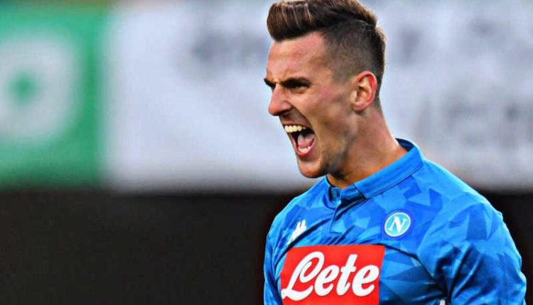 """Napoli, Milk: """"dispiaciuto per il goal mancato contro il Liverpool""""."""