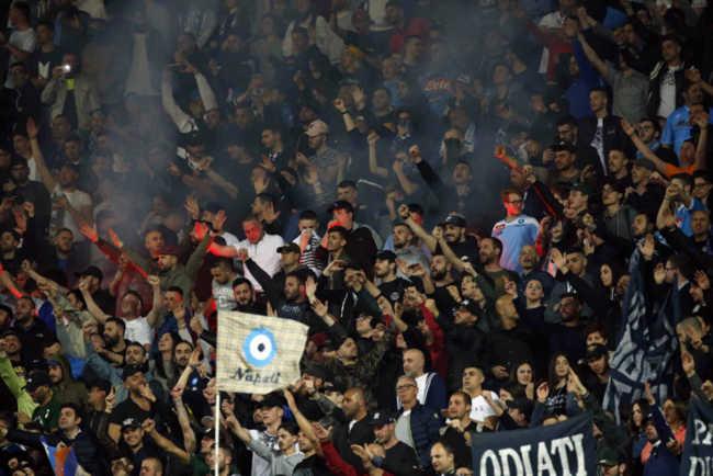 Allarme scontri. Napoli-Inter vietata ai residenti in Lombardia