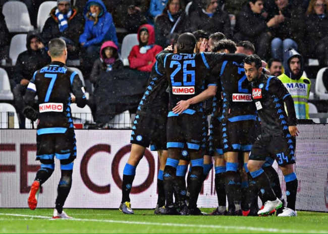 Spal-Napoli 1-2. Allan-Mario Rui. Festa azzurra a Ferrara
