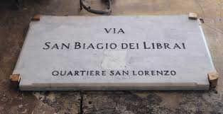 Via San Biagio dei librai a Spaccanapoli. Storia e curiosità