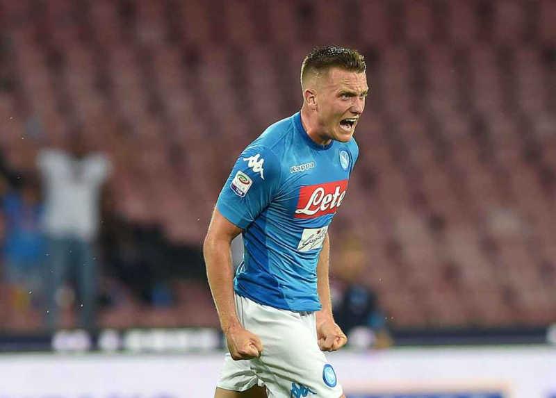 """Napoli, Zielinski: """"Spero di vedere una squadra più forte"""""""