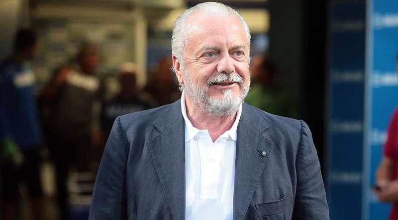 "De Laurentiis: ""L'inter vuole i nostri campioni. Fidatevi sarà un Napoli forte"""