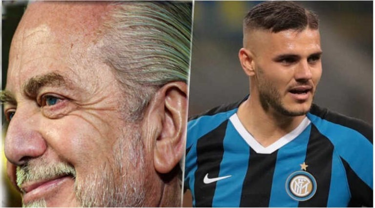 Napoli, De Laurentiis sogna Icardi. Quando Higuaìn scappò alla Juventus...