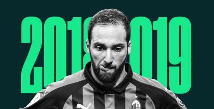 Gonzalo Higuain peggior giocatore del 2019. Altro flop per il Pipita