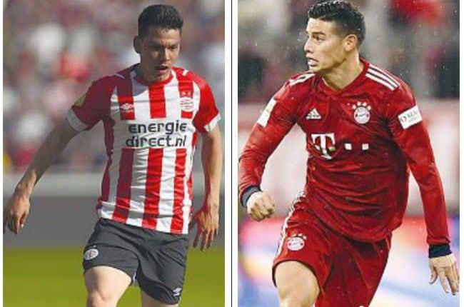 Napoli, Lozano e James per 100ml. Due big per dare l'assalto alla Juve