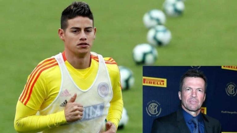 """Napoli, Lothar Matthaus: """"James Rodriguez andrà alla Juve"""""""
