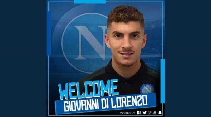 """Il Napoli ufficializza Di Lorenzo: """"Non vedo l'ora di inizare"""""""