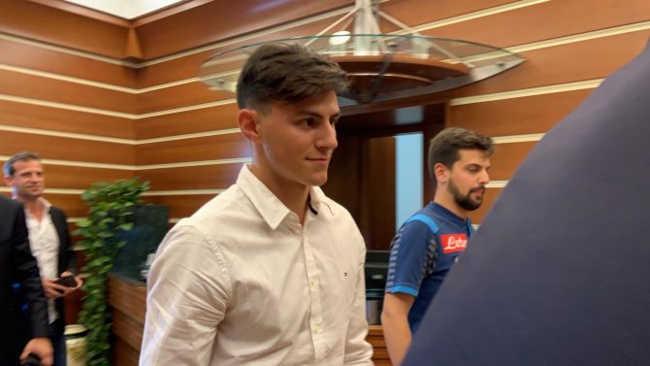 Napoli ecco Elmas. visite mediche e firma per il centrocampista.