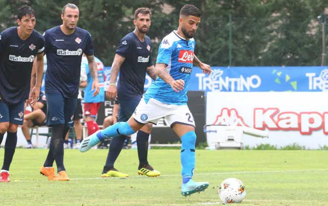 Napoli-Cremonese 3-3. Insigne, Verdi e Younes. Prodezza di Soddimo