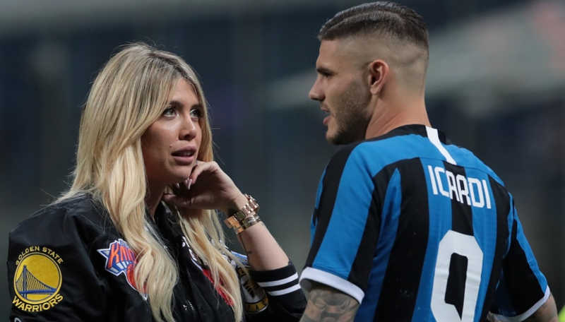 Napoli e Juve su Icardi. De Laurentiis prova a convincere Wanda