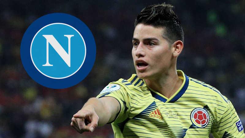 Il Napoli ha in pugno James. L'Atletico ci pensa ma gli azzurri sono avanti