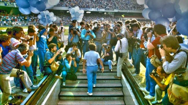 """Alberti: """"Maradona sopreso da Napoli e dal San Paolo. Ecco cosa disse"""""""