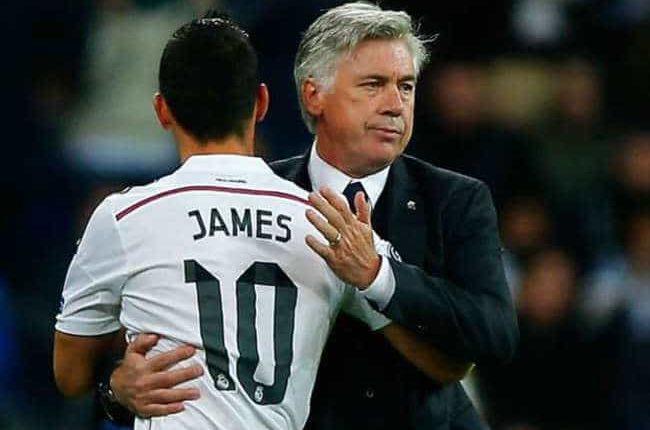 Napoli, Ancelotti deluso per la vicenda James. 4 cessioni in arrivo