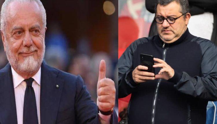 De Laurentiis e Raiola scontro sulla commisione. Il retroscena di Corbo