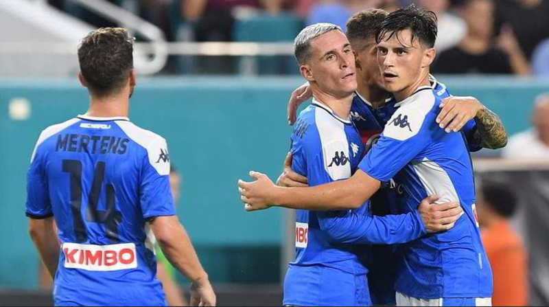 Video. Barcellona - Napoli 2-1. Gli azzurri danno spettacolo negli Usa
