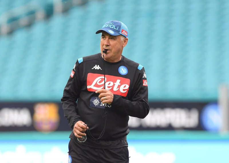 Ancelotti garante per Icardi e James. Ecco come giocherebbe il Napoli