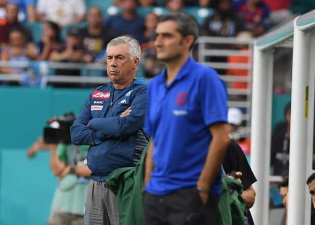 """Ancelotti: """"James e Lozano? ci piacciono. Barcellona forte"""""""