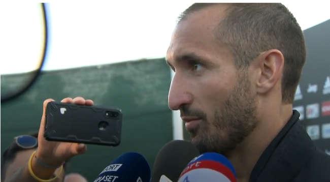 """Chiellini: """"Icardi alla Juve è fantacalcio. Abbiamo grandi attaccanti"""""""