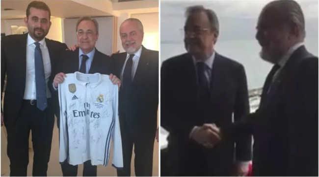 James Rodriguez al Napoli. De Laurentiis e Perez patto tra gentiluomini