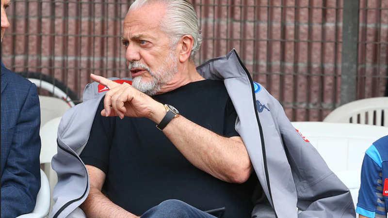 "De Laurentiis: ""Ho parlato di Lukaku con l'agente. Icardi, lozano e James..."""