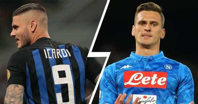 Il Napoli offre 60 milioni per Icardi per un trio da sogno. La reazione di Milik