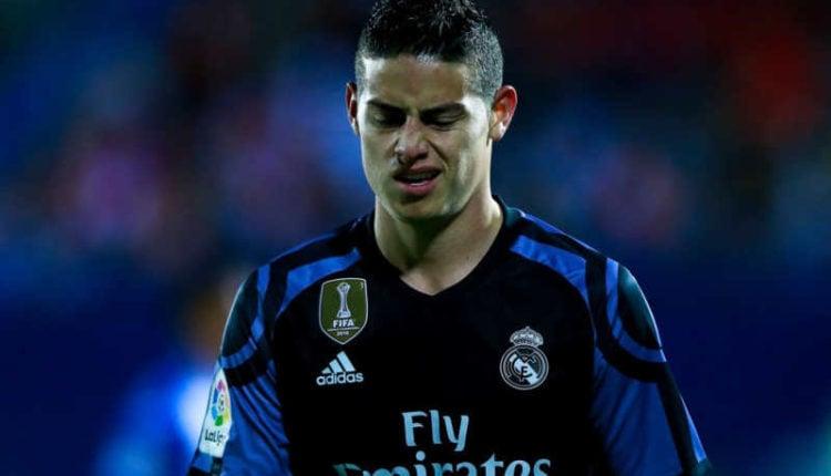Napoli, James pressioni sul Real con l'aiuto di Mendes