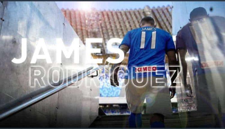 I tifosi del Real votano James. Napoli risponde #jamesmicasaescasatoja