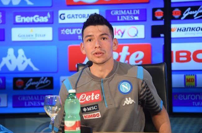 """Napoli, Lozano si presenta: """"Qui per i tifosi e Anceloltti. Darò il massimo..."""""""