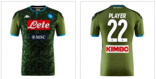L'Equipe: La maglia verde del Napoli è la peggiore d'Europa.