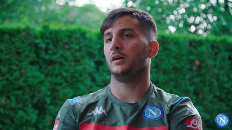 """Video: """"MANOLAS che emozione i tifosi del Napoli. Mi ispiro a mio zio"""""""