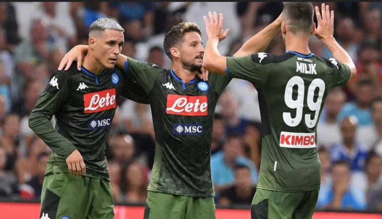 Il Napoli batte il Marsiglia 1-0. Al Velodrome volano schiaffi
