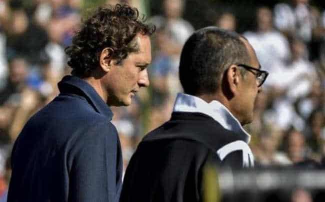 "Juve, Sarri a Villar Perosa: ""Si sente l'aria di casa"". John Elkann euforico"
