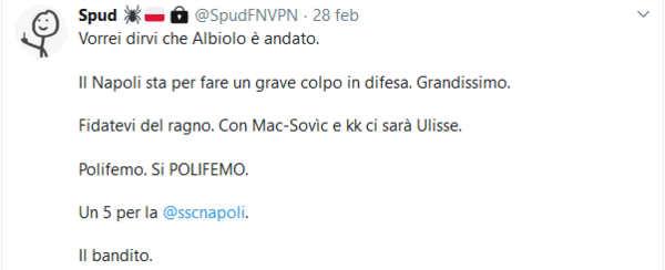 Anticipazioni social sul calciomercato: Alla fine Icardi sarà del Napoli...