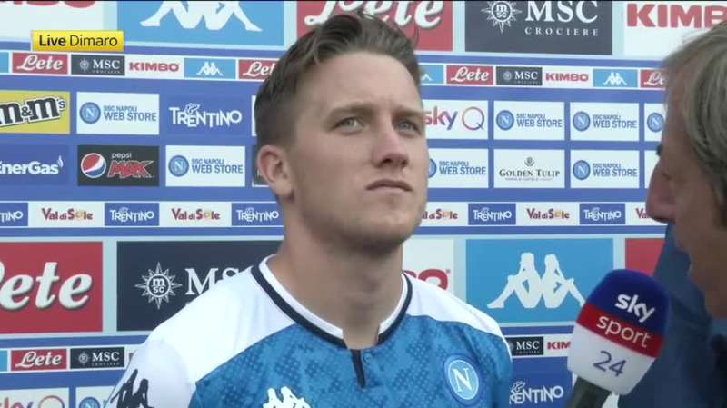 """Napoli, Zielinski: """"Arriveranno giocatori importanti. Barcelona? bella partita"""""""