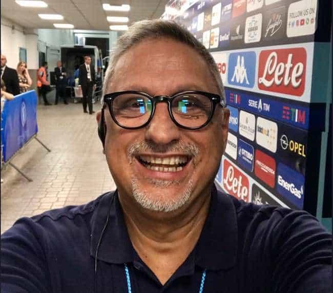 """Lecce-Napoli, Alvino punzecchia: """" Mi dite dove ritira la pensione Llorente"""""""