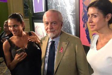 De Laurentiis alla mostra di Warhol: «Napoli può superare Roma nell'arte »