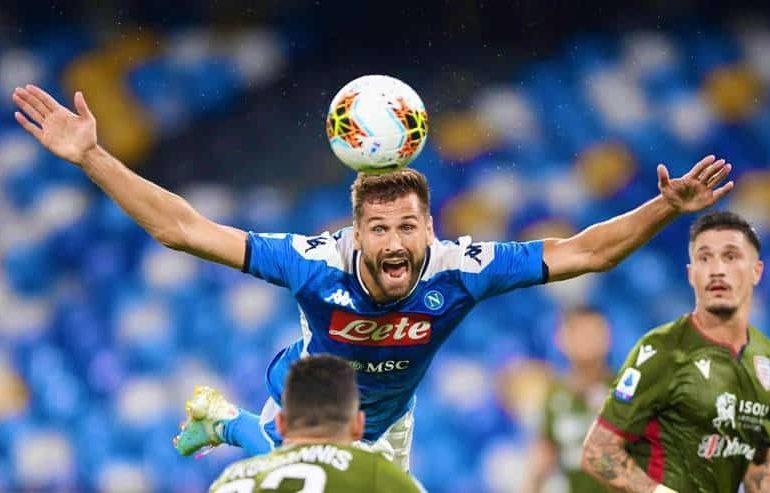 Le statistiche di Napoli-Cagliari sono impressionanti