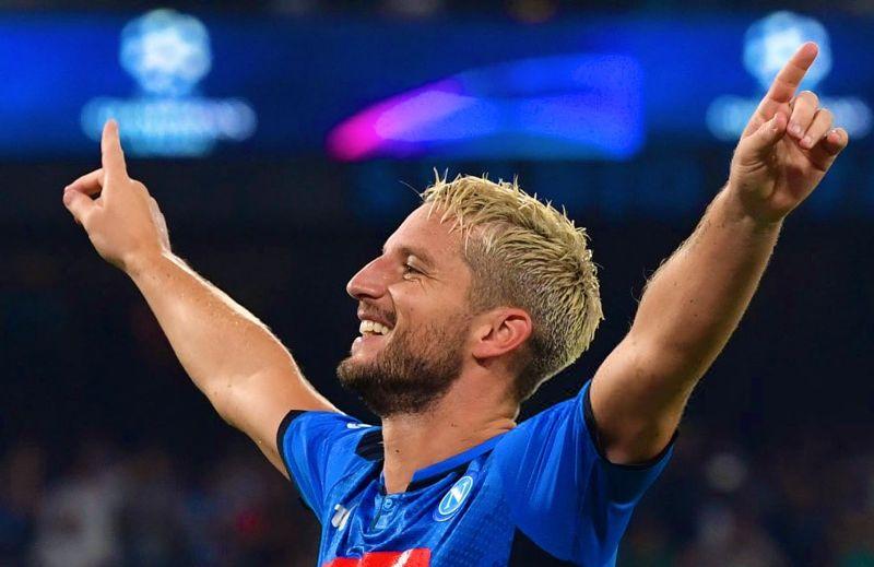 Napoli-Cagliari torna l'attacco speedy. Mertens,Lozano e Insigne