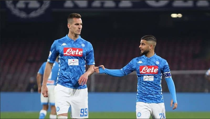 Napoli, Insigne e Milik niente Sampdoria. In forse anche Lozano