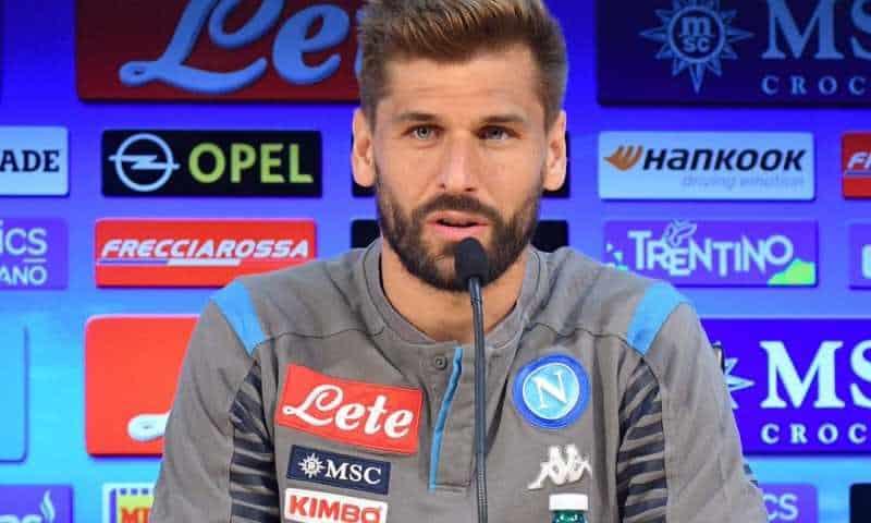 """Napoli, Llorente: """"C'era rigore contro il Cagliari, non sono uno che simula"""""""