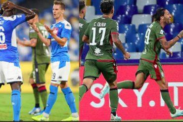 Napoli-Cagliari, gli azzurri l'hanno giocata come se fosse un'amichevole
