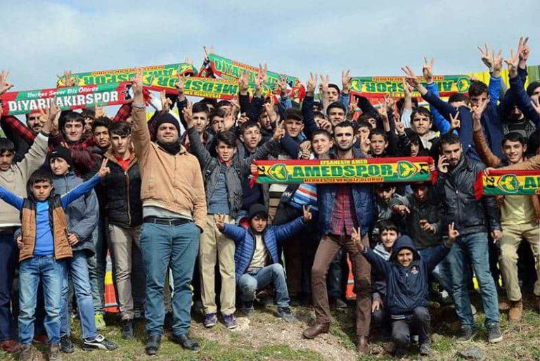 Amedspor la società di calcio, emblema del popolo Curdo