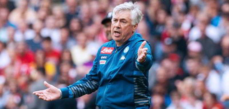 Ancelotti lavora per ritrovare un Napoli formato Liverpool