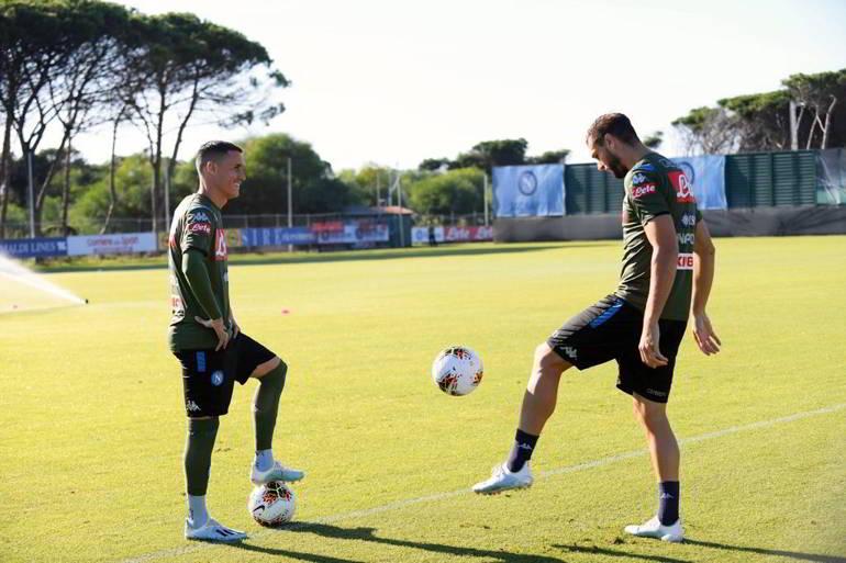 Napoli, Blitz dell'Uefa a Castel Volturno per il controllo antidoping