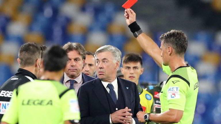 Ancelotti squalificato