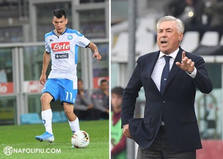 Napoli, Lozano delude. Ancelotti alzi la voce. Tifosi furiosi sui social