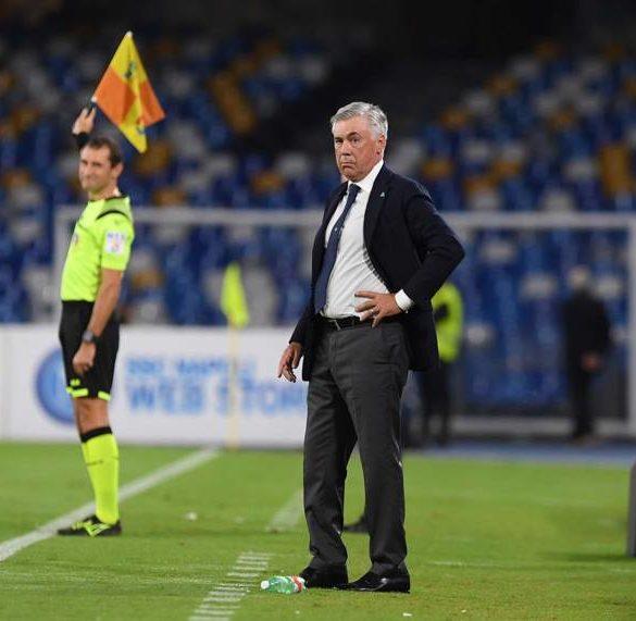 Ancelotti deve curare il Napoli. Gli azzurri rischiano lo scudetto