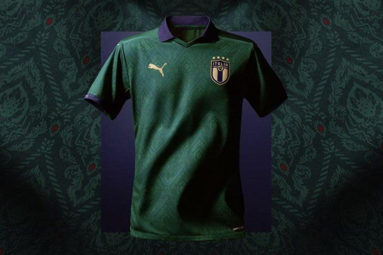 maglia verde della Nazionale italianamaglia verde della Nazionale italiana